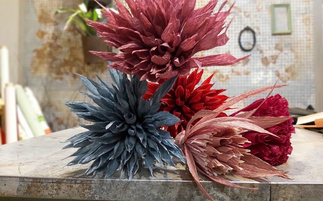 I fiori di carta di Andrea Merendi